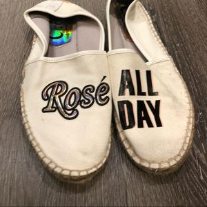 Rose all day espadrille shoes